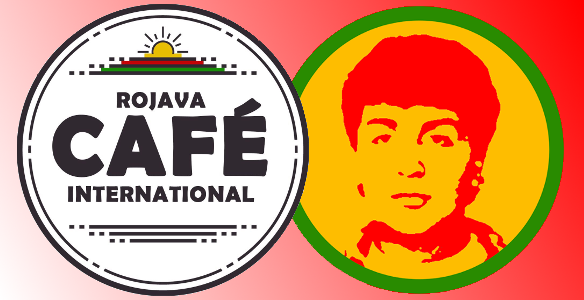 Café Rojava - international auf dem Halim-Dener-Platz
