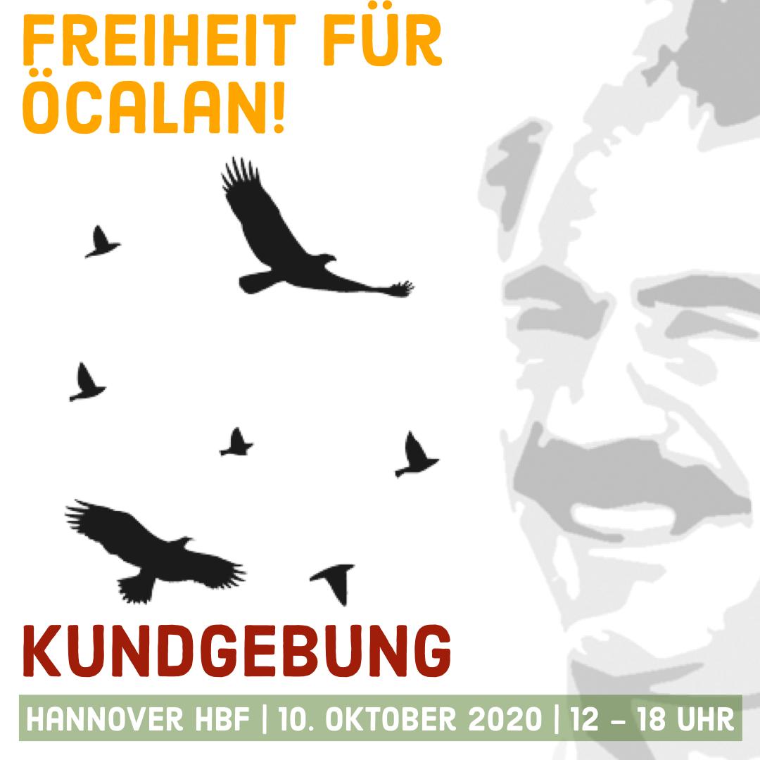 Freiheit für Abdullah Öcalan Hannover