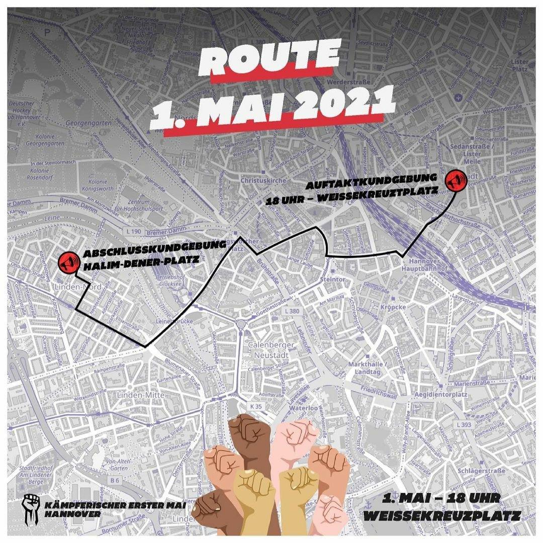 1. Mai 2021 Hannover