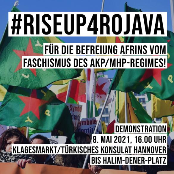Afrin-Demo Hannover NAV-DEM